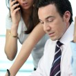 Male and female business colleague — Stock Photo #18456933