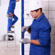 Electricians — Stock Photo #18464417