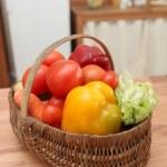 Vegetable basket — Stock Photo #18475011