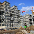 Foto Stock: Apartment under construction