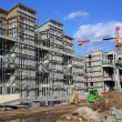 Stock Photo: Apartment under construction
