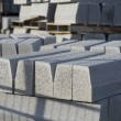 Grey building blocks - Foto de Stock