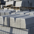 Grey building blocks - Stock Photo