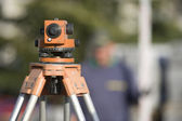 Site surveying equipment — Stock Photo