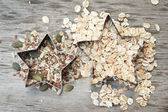 Seeds and cereals — Stock Photo