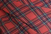 Plaid Fabric Background — 图库照片