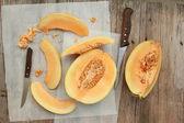 Cantaloupe — Stock Photo
