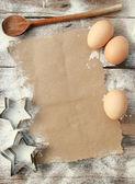 レシピを作成します。 — ストック写真