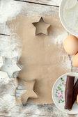 Maken van een recept — Stockfoto