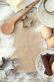 Crear una receta — Foto de Stock