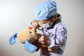 Little doctor — Stock Photo