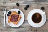 Sabah kahvesi — Stok fotoğraf