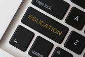 Education button — Stock Photo