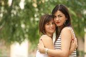 Female teenager friendship — Stock Photo