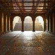 Bethesda Fountain Arcade Central Park — Stock Photo