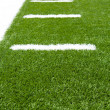 AmericFootball Field Yard Lines — Stock Photo #12627614