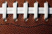 American Football Laces — Stock Photo