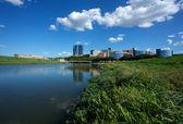 şehir merkezi fort worth, teksas — Stok fotoğraf