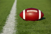 Football near the Yard Line — Stock Photo