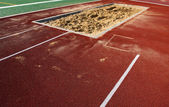 Long Jump Sand Pit — Stock Photo