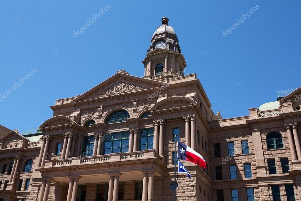 Historic Tarrant County Courthouse, Fort Worth, Texas — Stock Photo #13441325
