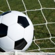 Soccer Ball in Goal — Stock Photo #19677081