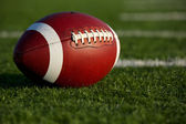American Football Close Up — Stock Photo