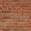 Worn Early 19th Century Brick Wall - Stock Photo