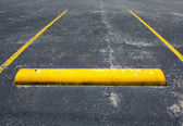 Old Empty Parking Space — Stock Photo