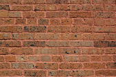 Worn Early 19th Century Brick Wall — Stock Photo