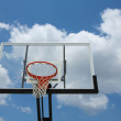 Stock Photo: Outdoor Basketball Hoop
