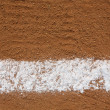 Baseball Infield Chalk Line — Stock Photo #22067221