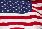 Unites States Flag Close Up — Stock Photo