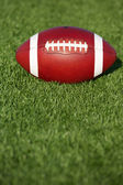American Football on the Grass — Stock Photo