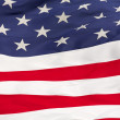 Unites States Flag Close Up — Stock Photo