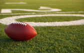 American Football near the Twenty — Stock Photo