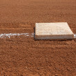 Stock Photo: View at Third Base