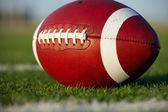 American Football Close Up — Stock Photo