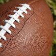 Football close up — Stock Photo
