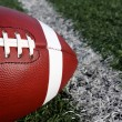 Football Close up on Field — Stock Photo #35704695