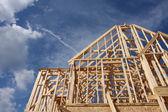 Casa nueva en construcción — Foto de Stock