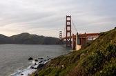 A ponte golden gate — Fotografia Stock