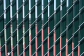 Tennis Court Wind Screen — Stock Photo