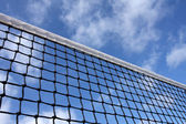Tennis Court Net — 图库照片
