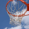 Outdoor Basketball Hoop — Stock Photo #35889643