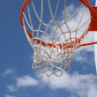 Outdoor Basketball Hoop — Stock Photo #35889677
