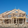Stock Photo: New Home under Construction