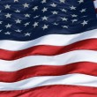 Stock Photo: Unites States of AmericFlag