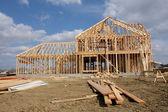 New House under Construction — Stock Photo