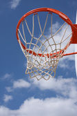 Outdoor Basketball Hoop — Stockfoto